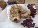 Cizrnovo-citrónové muffiny s brusinkami recept