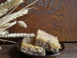 Bleskový jablkovec s makovým mramorováním recept