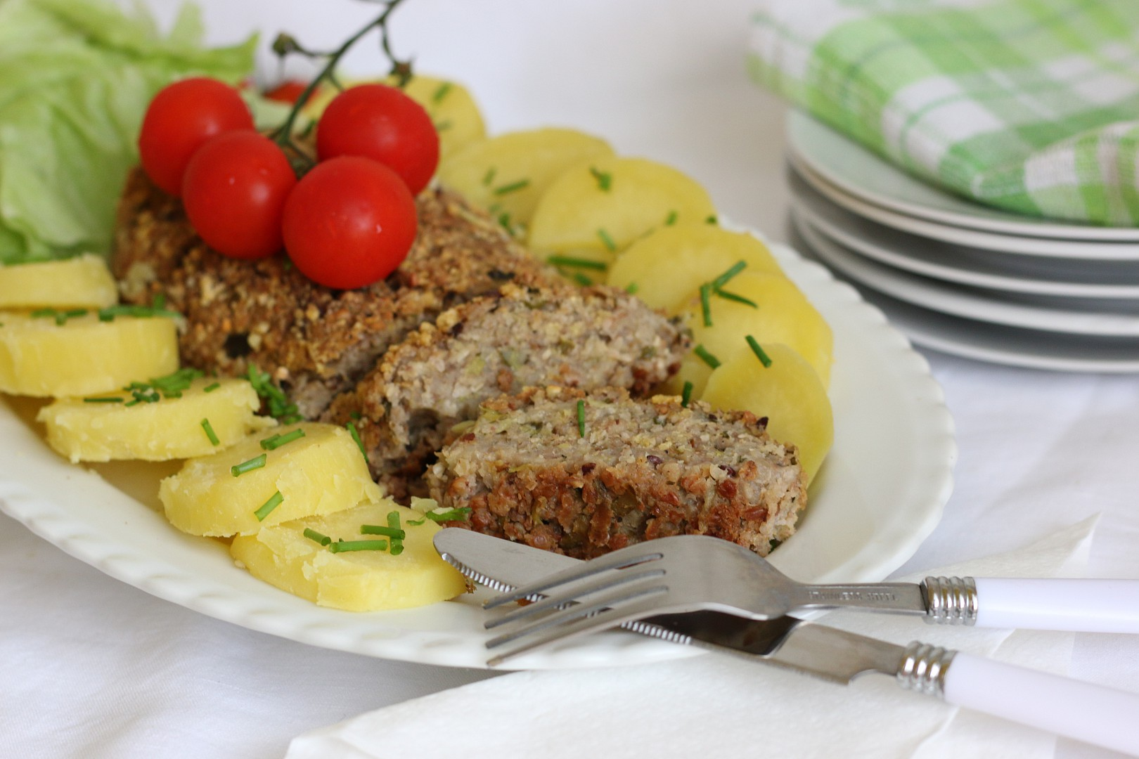 Pohanková směs na sekanou nebo karbanátky recept
