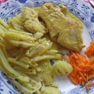 Kuřecí masíčko na medu a kari recept