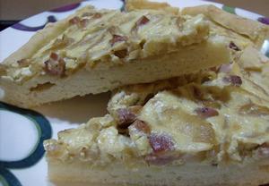 Alsasko-lotrinsko-německý cibulový koláč