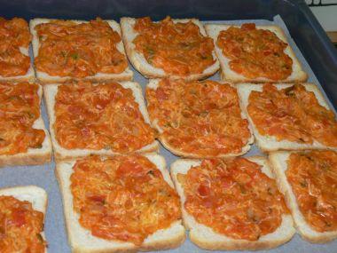Rajčatové toasty