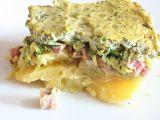 Jarní variace na zapečené brambory s uzeným masem recept ...