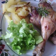 Dietní kuřecí stehýnka recept