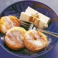 Smažená jablka se zmrzlinou recept