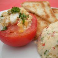 Rajčata plněná vejci recept