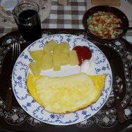 Smažený sýr s vejci recept