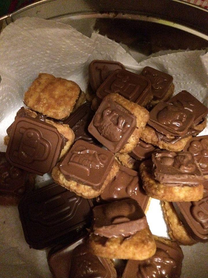 Tescoma sušenky s čokoládovými bonbónky recept