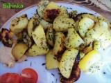 Zapečené přílohové brambory s Texas kořením a bylinkama recept ...