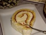 Piškotová roláda s kokosem recept