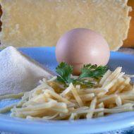 Domácí nudle do polévky recept