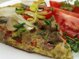 Rychlá omeleta s krůtími játry recept