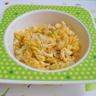 Bezlepkové kukuřičné těstoviny s vejcem recept