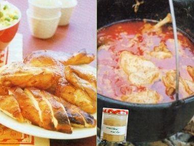 kuře po čínsku a po africku