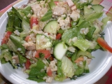 Rýžový salát s tofu recept