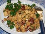Šťavnatý cizrnový salát recept