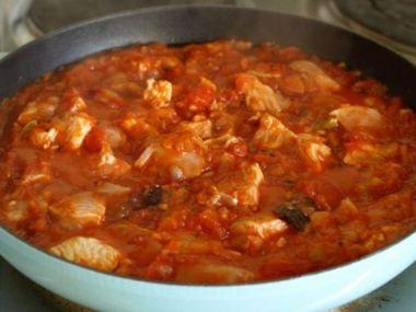 Recept Kuřecí guláš