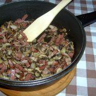 Žampiony na slanině recept