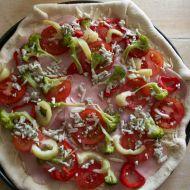Brokolicová pizza recept