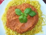 Cuketové špagety s omáčkou (Raw) recept