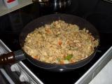 Kuřecí rizoto se zeleninou a žampiony recept