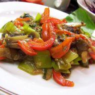 Restovaná zelenina se žampiony recept