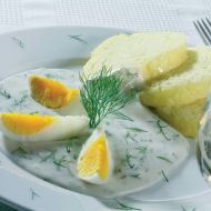 Jemná koprová omáčka recept