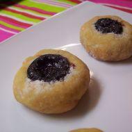 Mini koláčky s povidly recept