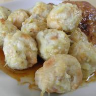 Žemlovo-bramborové knedlíčky recept