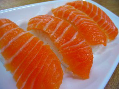 Recept Losos na pomerančích s mandlemi
