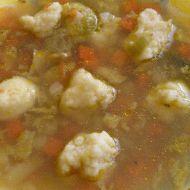 Rychlá polévka z krupice recept