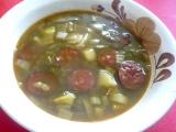 Čočková polévka s tykví recept