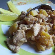 Kuřecí s čerstvým ananasem recept