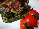 Zapečené špenátové gnocchi recept