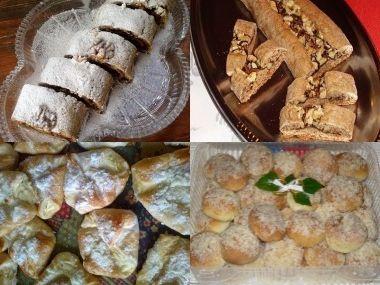 Úkotě a Převalované vdolečky/koláčky, recept od prababi