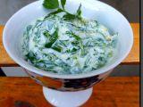 Mangold v jogurtu s česnekem recept
