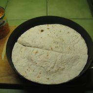 Tortillové placky s fazolemi recept