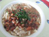 Fazolová polévka se širokými nudlemi recept