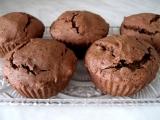 Čokoládové muffiny bez lepku, mléka a vajec recept