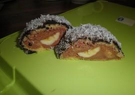 Banánová roláda s čokoládou recept