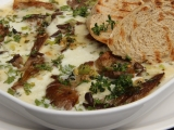 Hlíva zapečená s mozzarellou a gorgonzolou recept