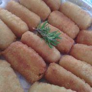 Domácí bramborové krokety s parmazánem recept