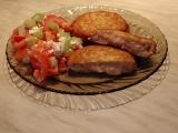 Hermelínové karbanátky se salámem recept