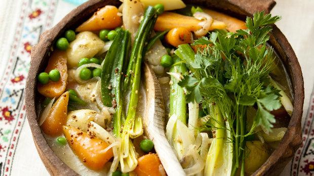 Jarní zeleninový kotlík