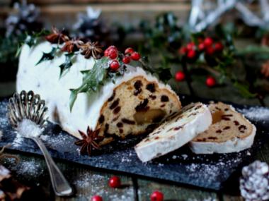 Nadýchaná vánoční štola