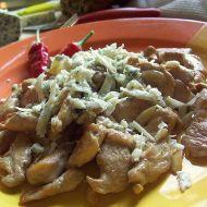Kuřecí s mandlemi sypané nivou recept
