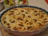 Tortilly zapečené s houbami recept