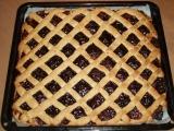 Mřížkovaný škvarkový koláč recept