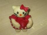 Modelování Hello Kitty recept