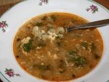 Kedlubnová polévka s rýží recept